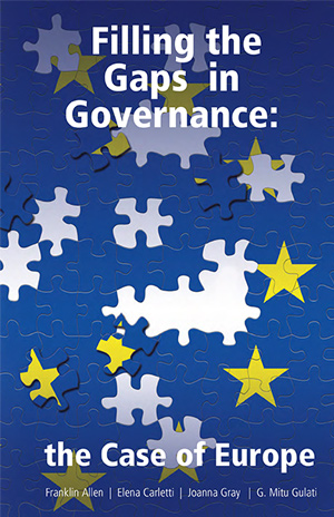 Filling the Gaps in Governance: The Case of Europe