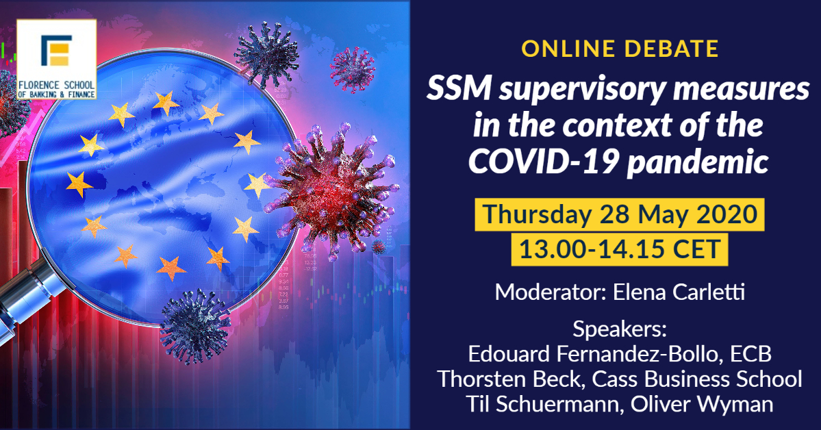 SSM supervisory measures in the context of the COVID-19 pandemic
